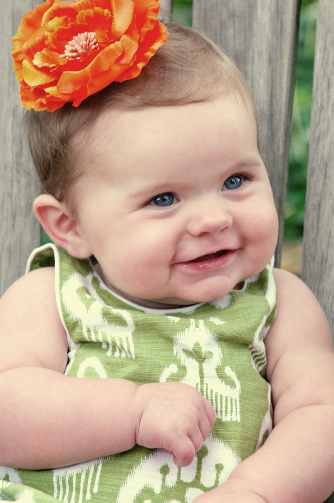 Family Photography - Baby smiling