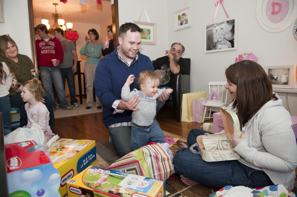 1st Birthday Party Photography - Opening Presents