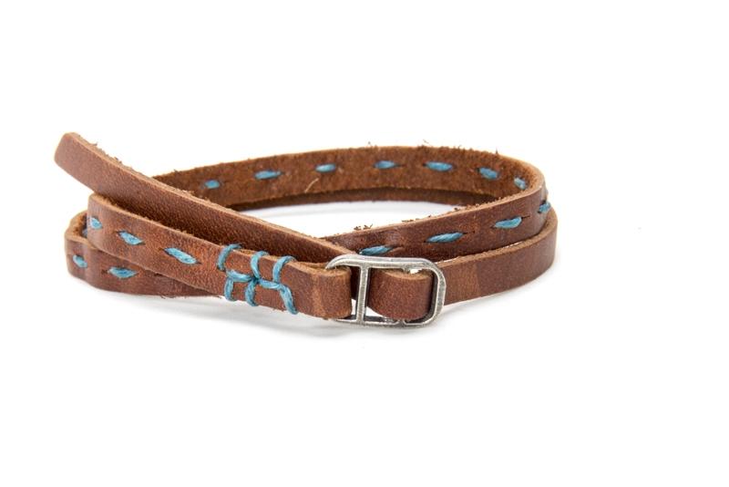 Product Photography - Robert Mason Leather Wristband