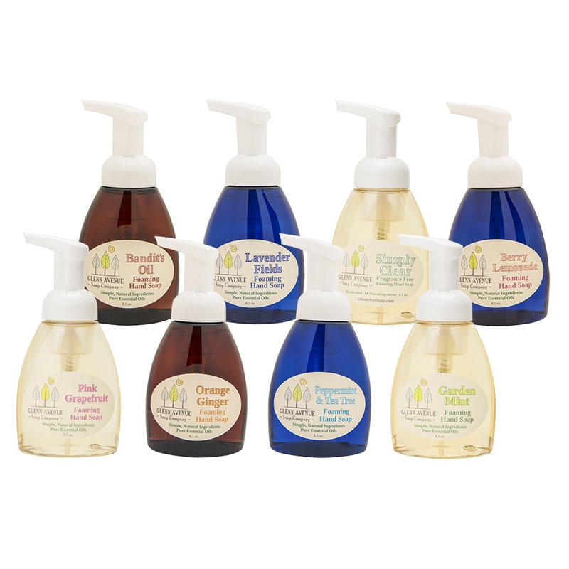 Product Photography - Beauty Products Glenn Avenue hand soaps