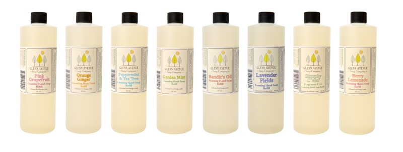 Product Photography - Glen Avenue Foaming Hand Soap refill