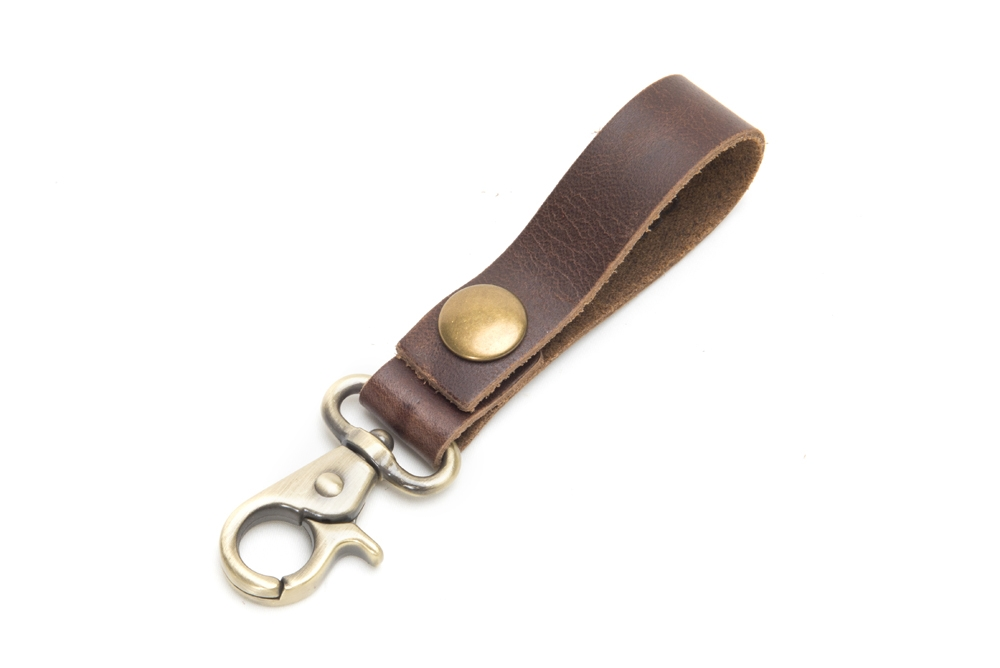 Product Photography - Accessories leather belt-loop key-chain