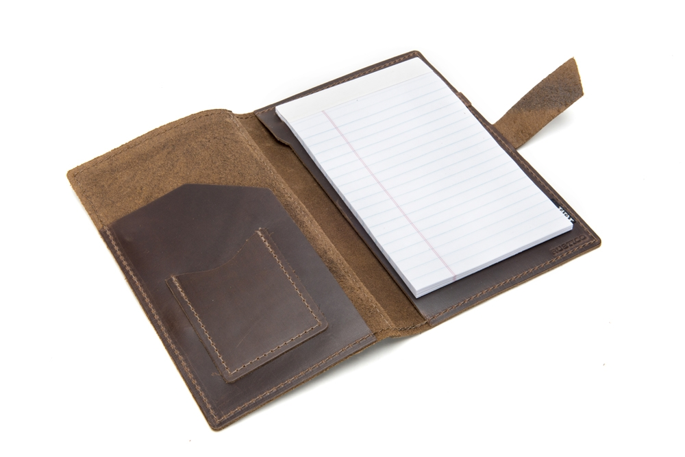 Product Photography - Writing Accessories brown padfolio