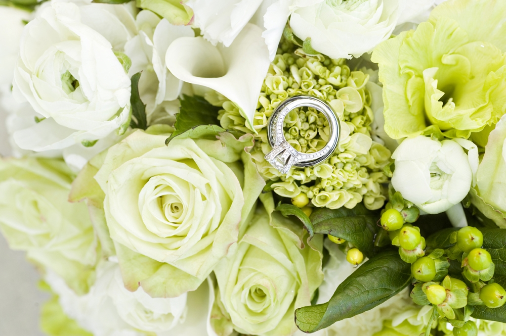 Wedding Photography - Flowers and Rings