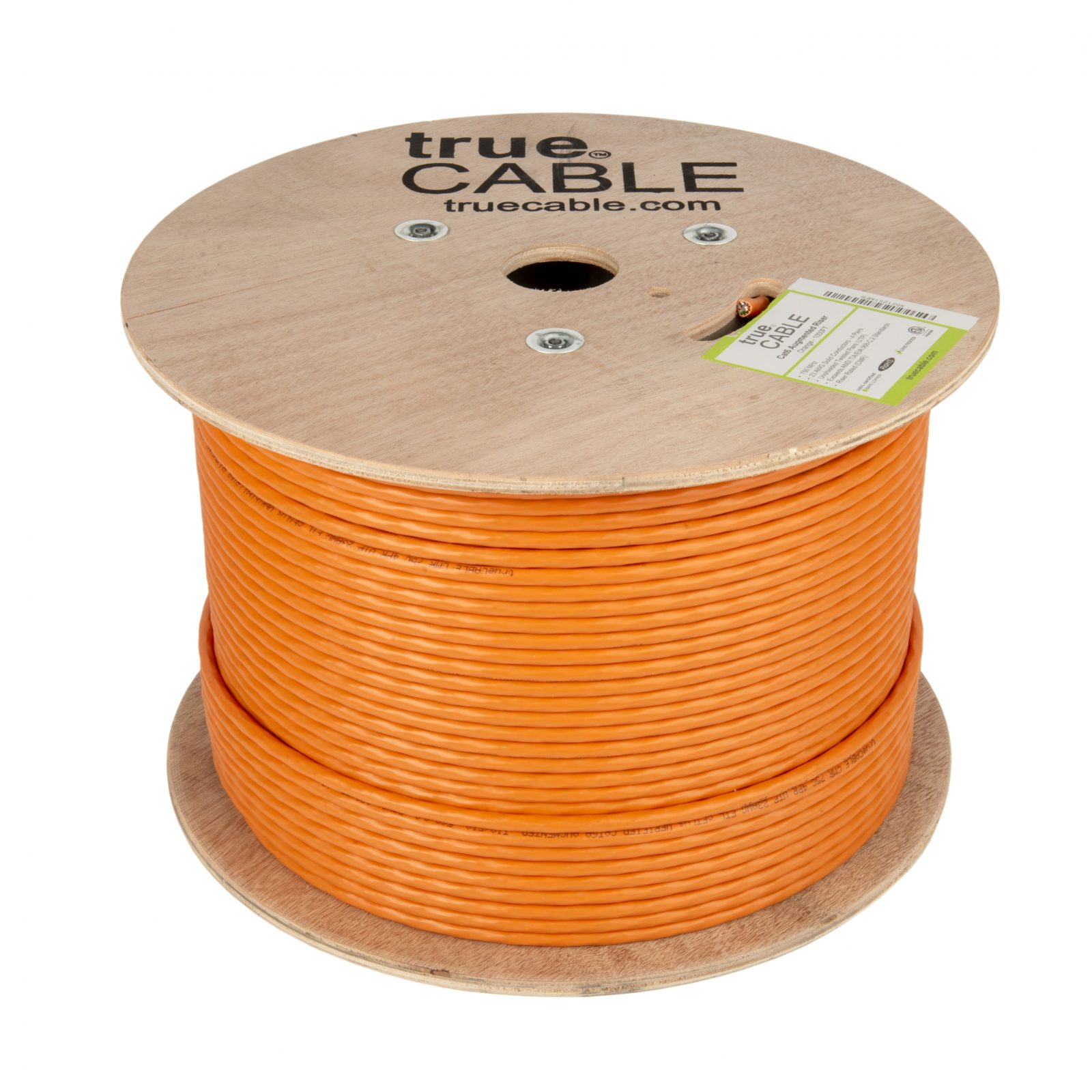 True cable dark yellow cable reel photographed by Robintek Photography