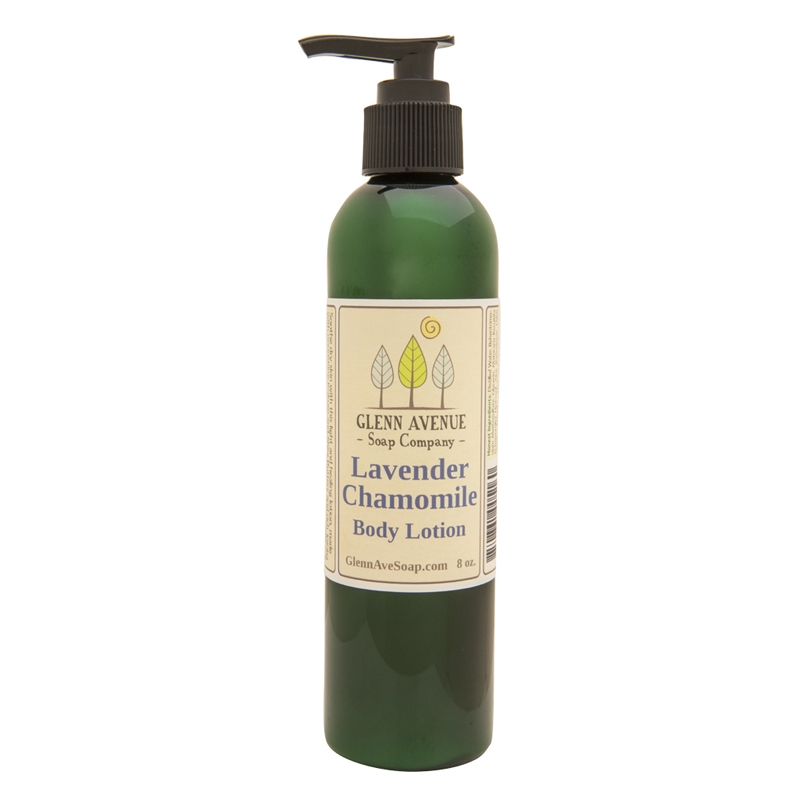 Columbus Ohio Product Photography - Glen Avenue Lavender Chamomile Body Lotion