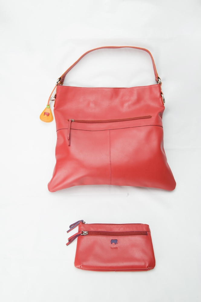 Columbus Ohio Product Photography - Leather Handbag Red