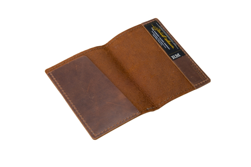 Product Photography - Robert Mason Brown Leather Passport Cover