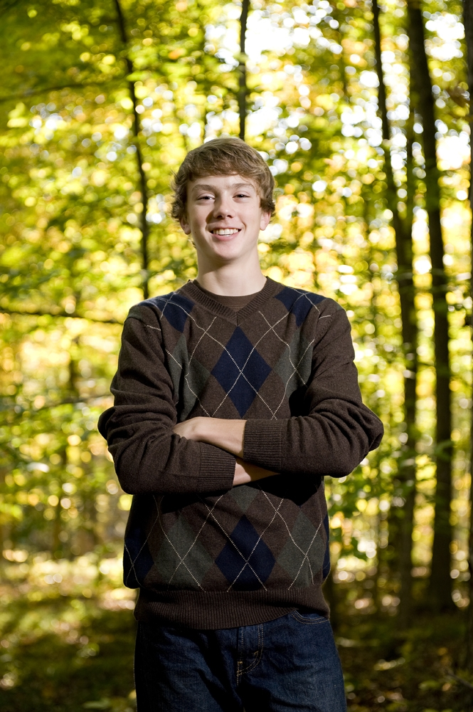 Senior Pictures - Fall Woods