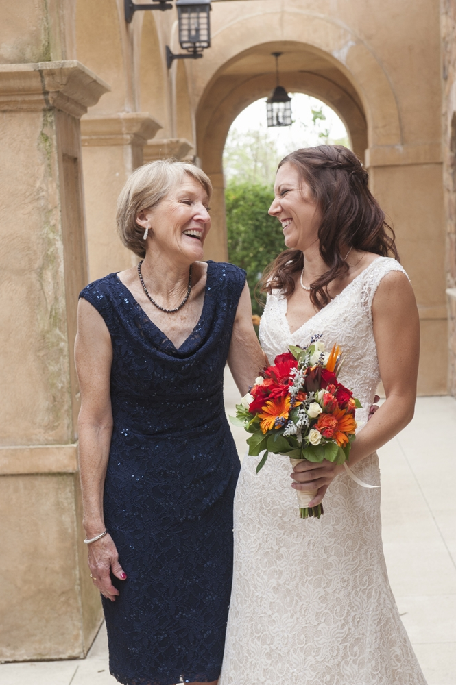 Wedding Photography - Mother and the Bride
