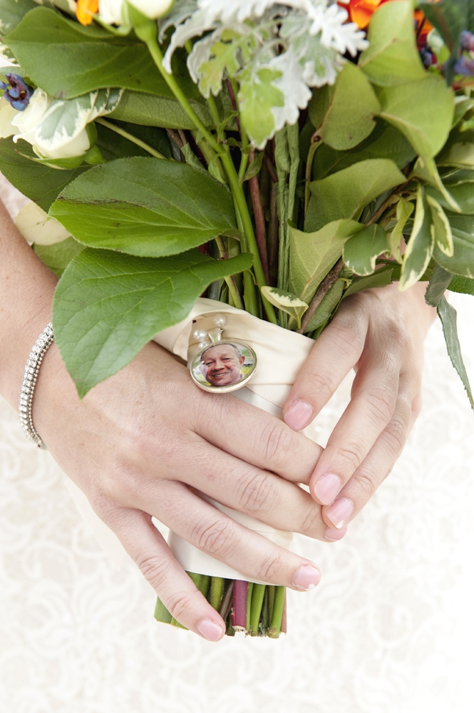 Wedding Photography - Hands Holding Bouquet