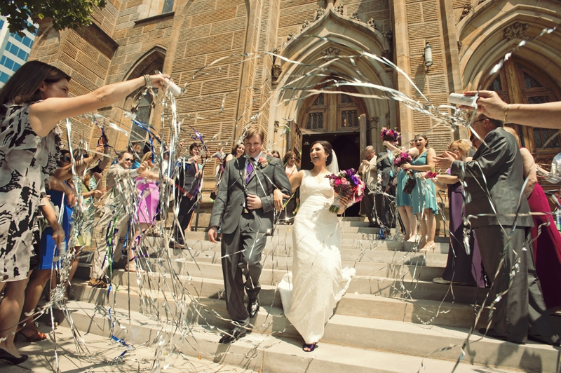 Wedding Photography - Streamers