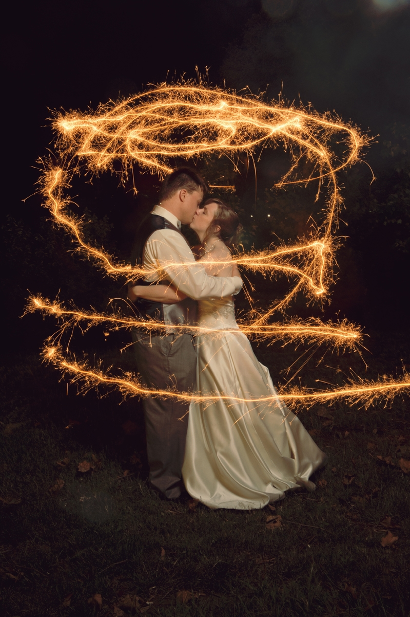 Wedding Photography - Sparkler