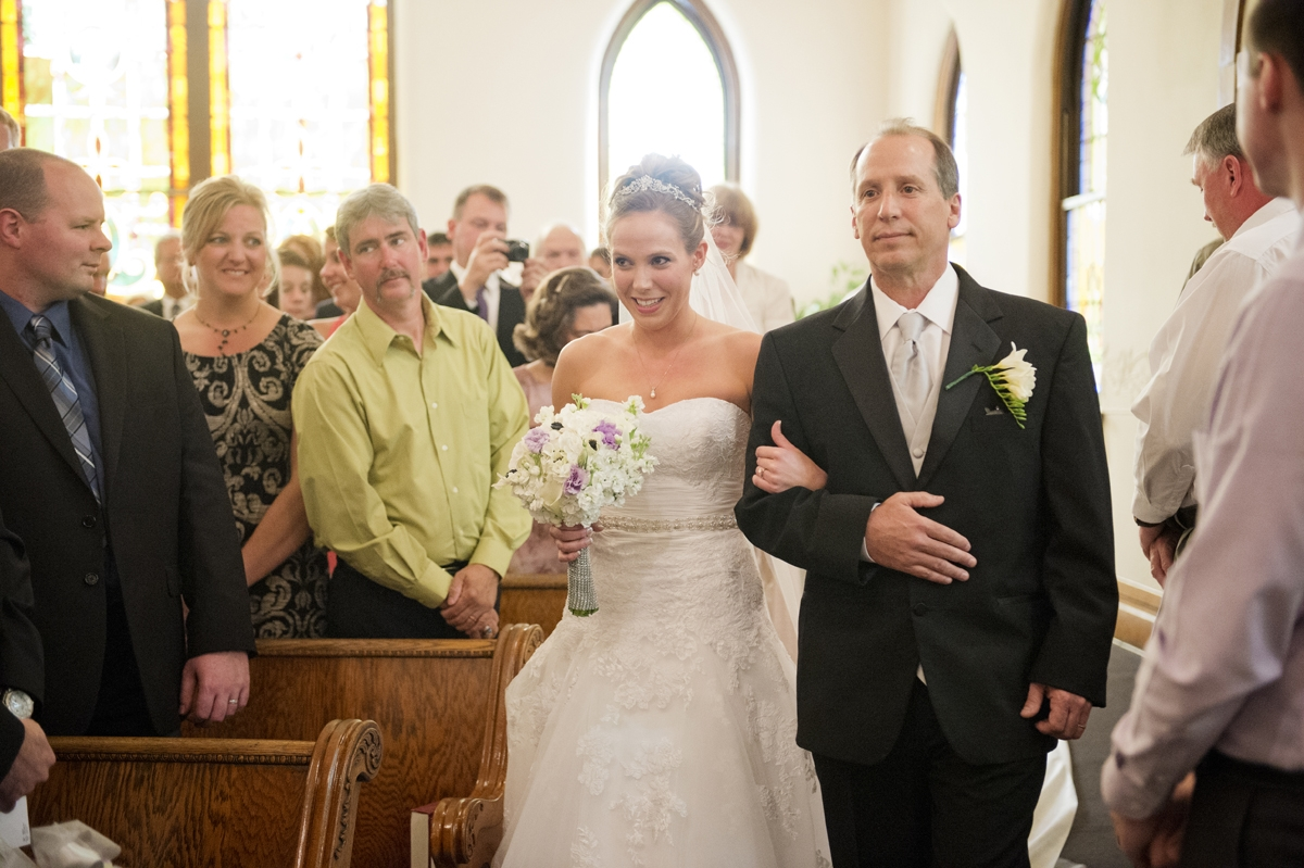 Wedding Photography - Ceremony - Father and Bride