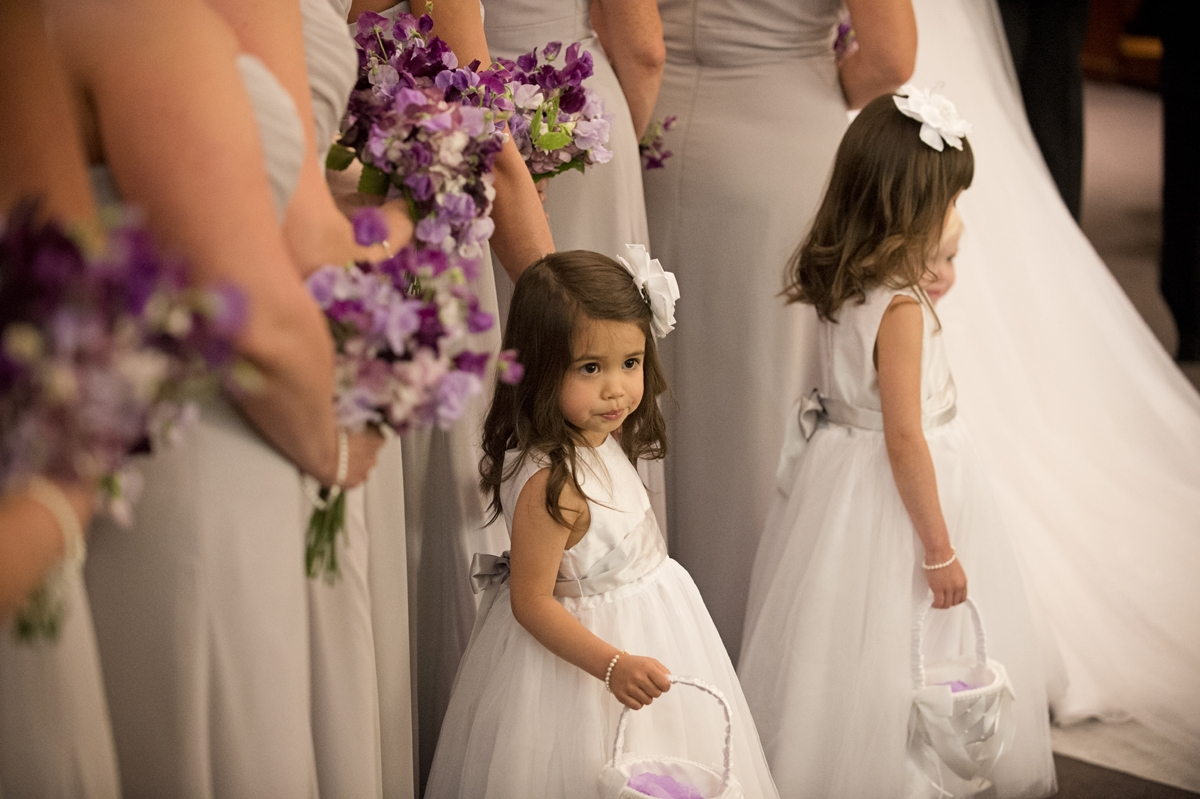 Wedding Photography - Ceremony - Flower Girls
