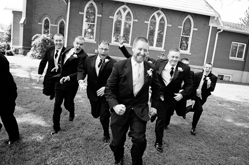 Wedding Photography - Groomsmen