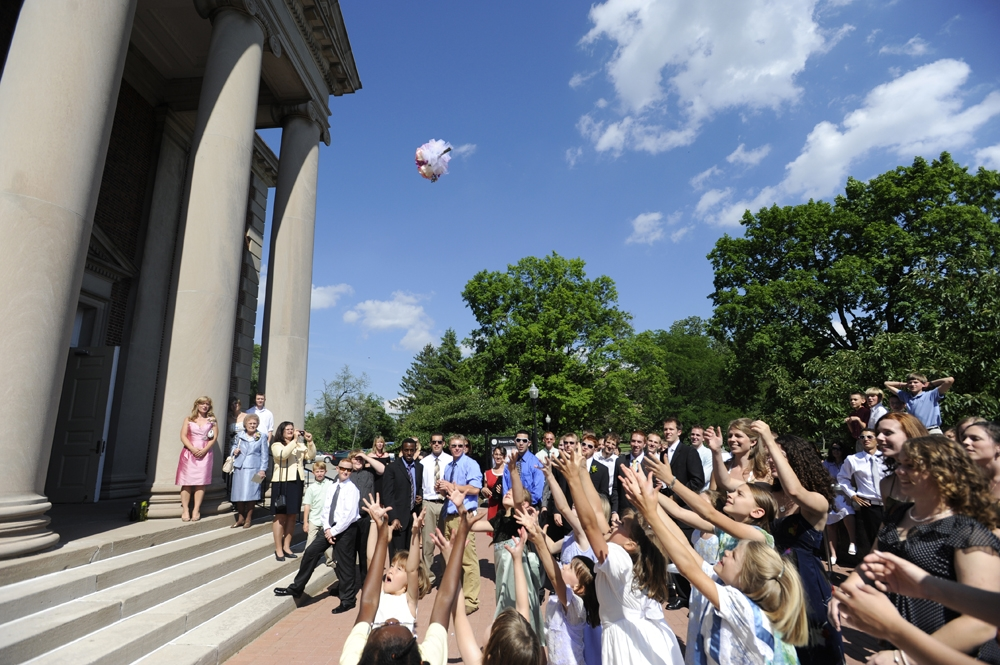 Wedding Photography - Boquet Toss