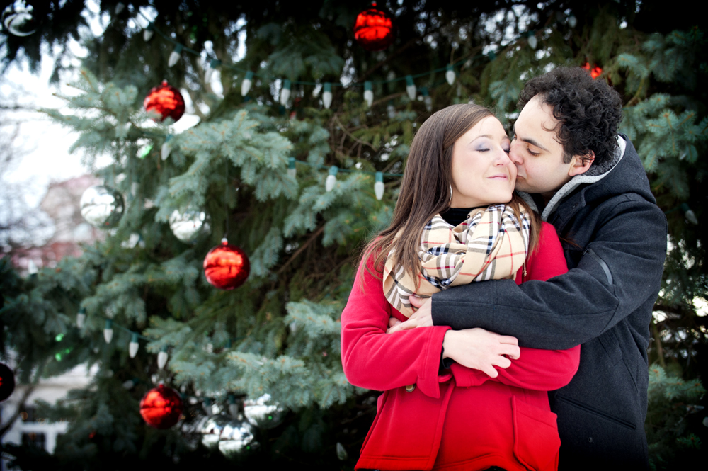 David and Heather's Winter Engagement