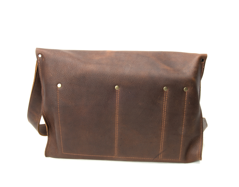 Franklin Handcrafted Leather bag Robert Mason Signature