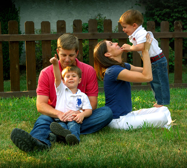 Columbus Ohio Family Portrait Photographer